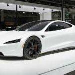 2020 Tesla Roadster White