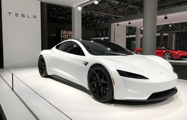 All New 2020 Tesla Roadster