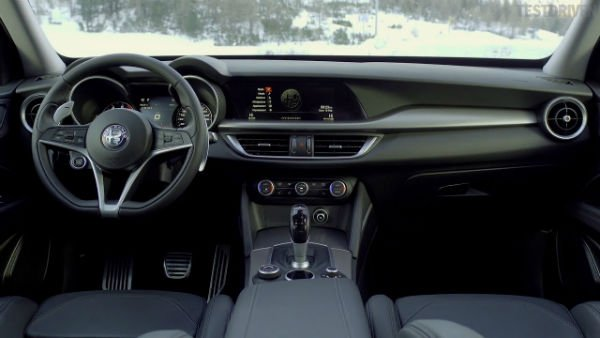 2019 Alfa Romeo Stelvio Interior