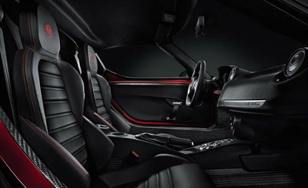 2019 Alfa Romeo 4c Interior