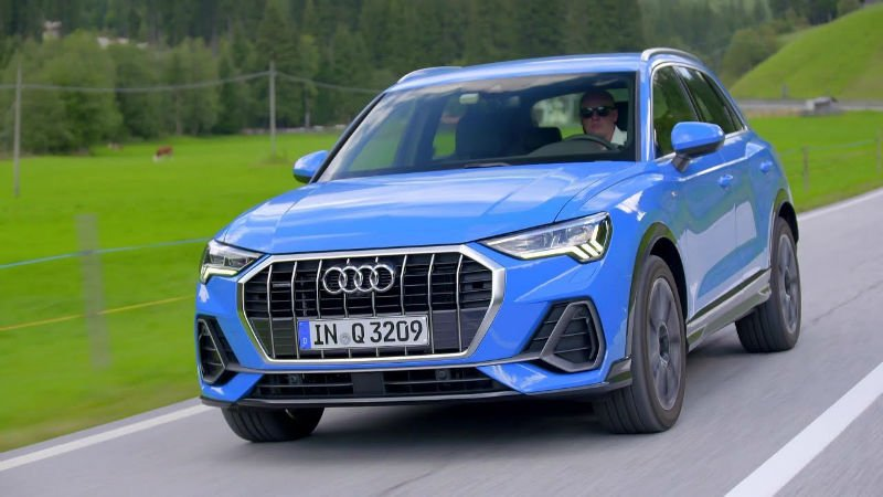 2019 Audi Q3 Turbo Blue