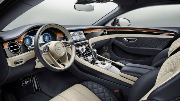 2019 Bentley Continental GT Interior