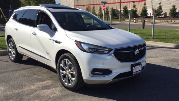 2019 Buick Enclave White