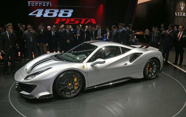 2019 Ferrari 488 GTB Pista