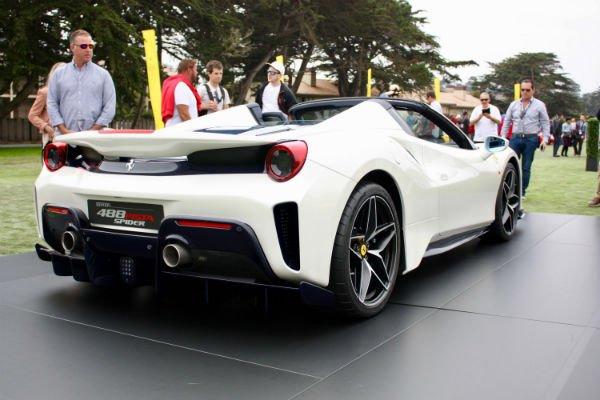 2019 Ferrari 488 Pista Spider