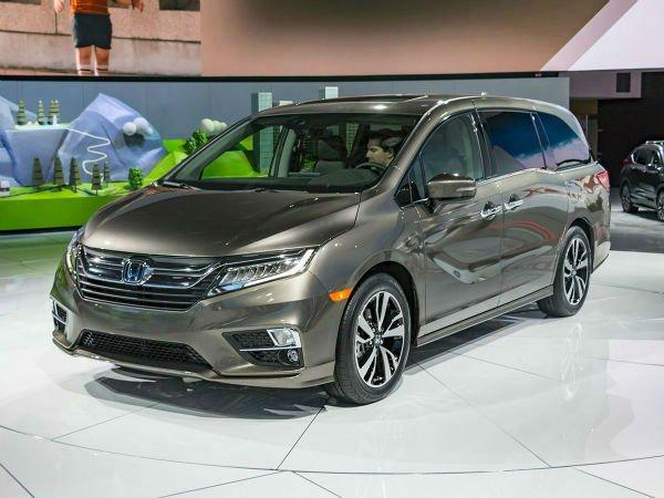 Honda Odyssey Colors >> 2019 Honda Odyssey Colors
