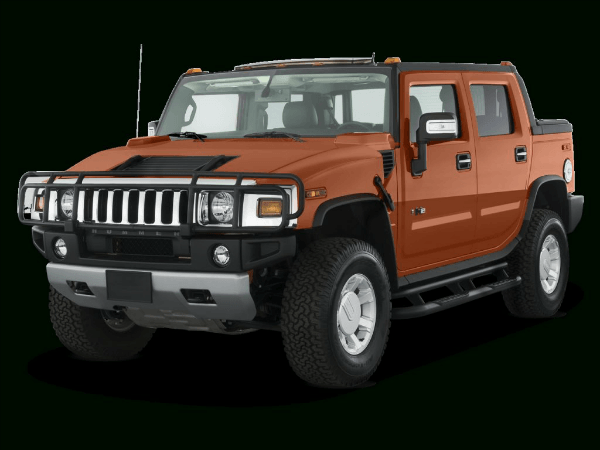 2019 Hummer H3 Orange