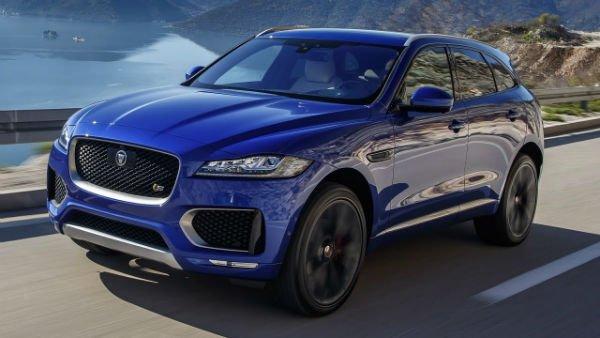 2019 Jaguar F Pace Black Edition