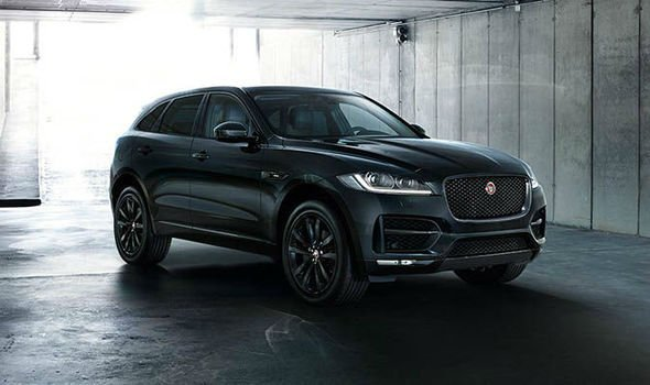 2019 Jaguar F Pace SRV Black