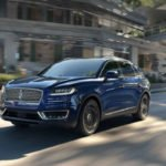 2019 Lincoln Nautilus Blue Diamond