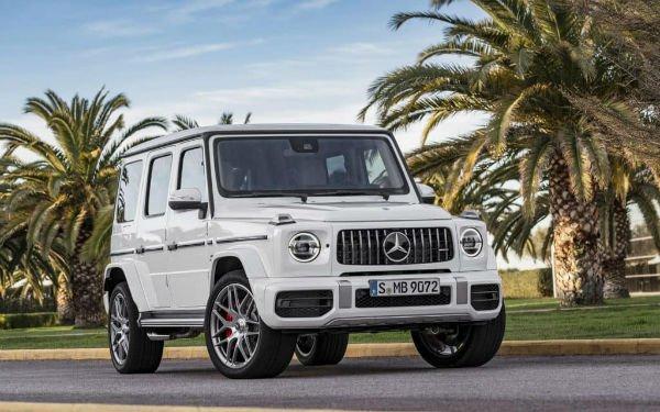 2019 Mercedes-Benz G-Class White