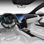 2019 Tesla Model X Inside