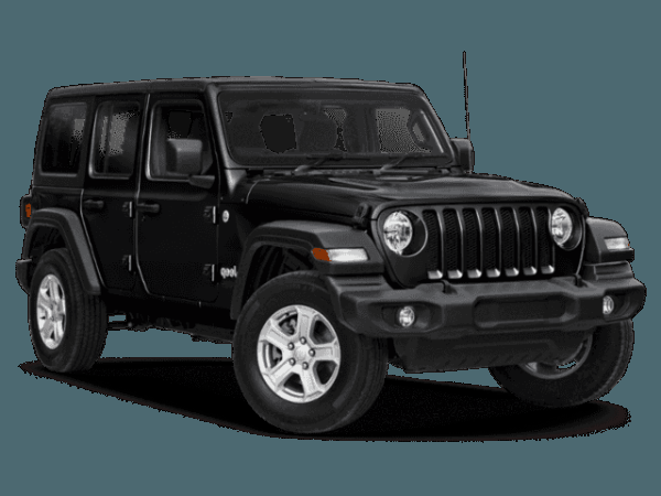Black Jeep Wrangler
