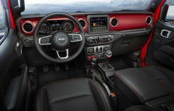 Jeep Wrangler 2019 Interior