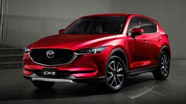 Mazda CX-5 2019 Red