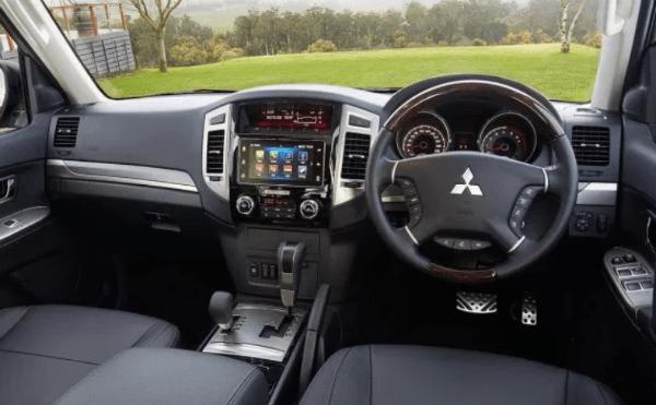 Mitsubishi Pajero 2019 Interior