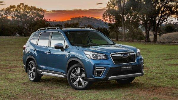 Subaru Forester 2019 Blue