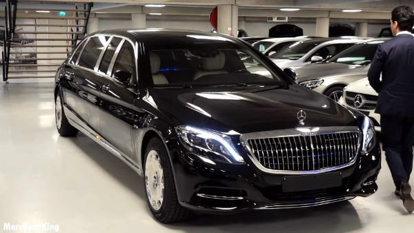 2019 Mercedes Maybach S600