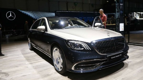 Mercedes Maybach 2019 S Class