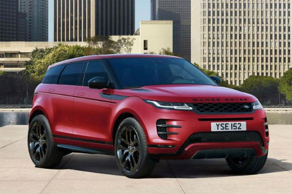 2019 Range Rover Evoque Red