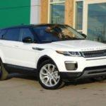 2019 Range Rover Evoque Sport