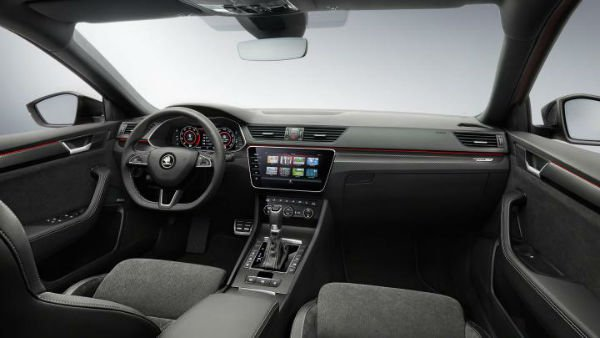 2019 Skoda Superb Interior