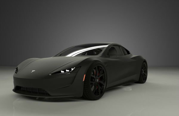 Tesla Roadster 2019 Black