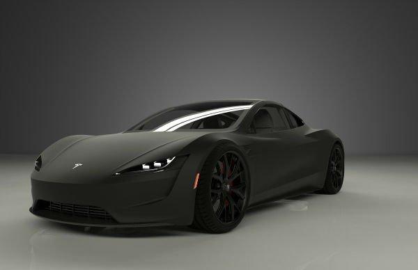 Tesla Roadster 2019 Black