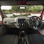 2020 Mahindra Thar interior