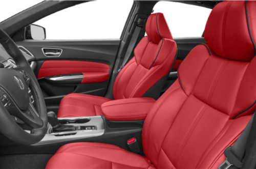 2020 Acura TLX Red leather