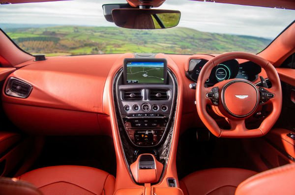 2020 Aston Martin DBS Superleggera Interior