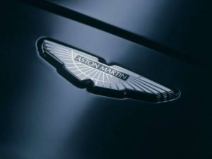 Aston Martin Logo on Car