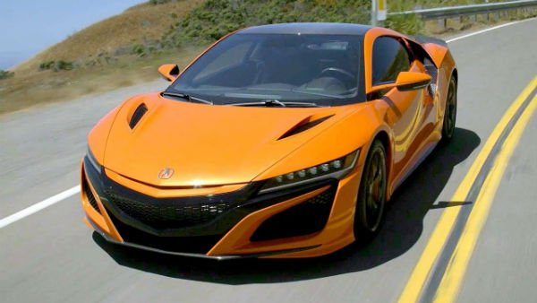 Thermal Orange 2020 Acura NSX