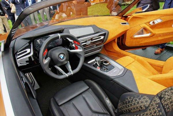 2020 BMW Z4 M40i Interior