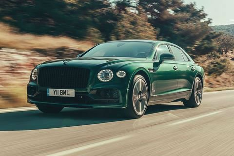 2020 Bentley Flying Spur Green