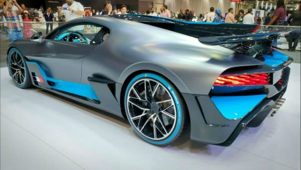 2020 Bugatti Divo Sports Car