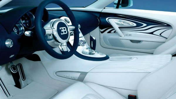 2020 Bugatti Veyron Interior