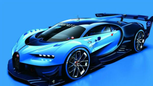 2020 Bugatti Vision GT