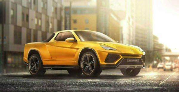 2020 Lamborghini Truck