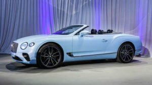 Bentley Continental GT 2020 Convertible
