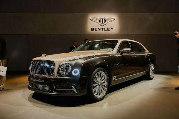 Bentley Mulsanne 2020