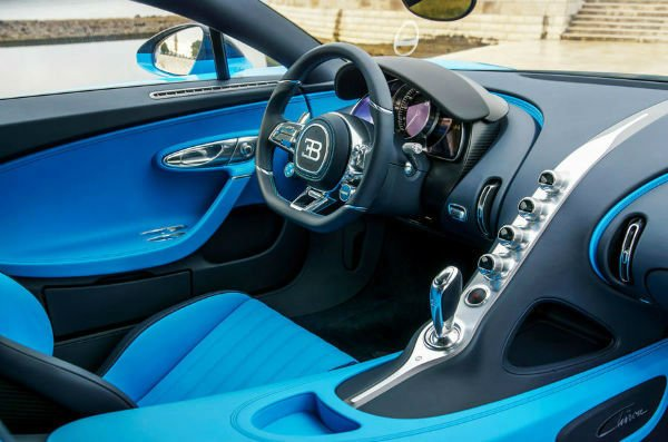 Bugatti Veyron 2020 Interior