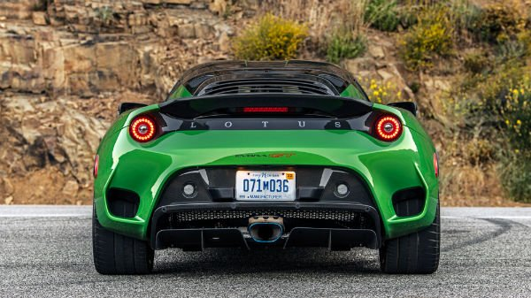 2020 Lotus GT Evora Engine