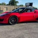 Lotus Evora 2020 Red