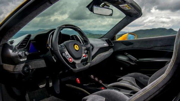 2020 Ferrari 488 Pista Interior