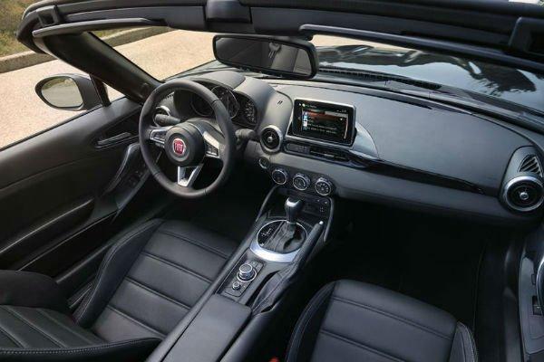 2020 Fiat 124 Spider Interior