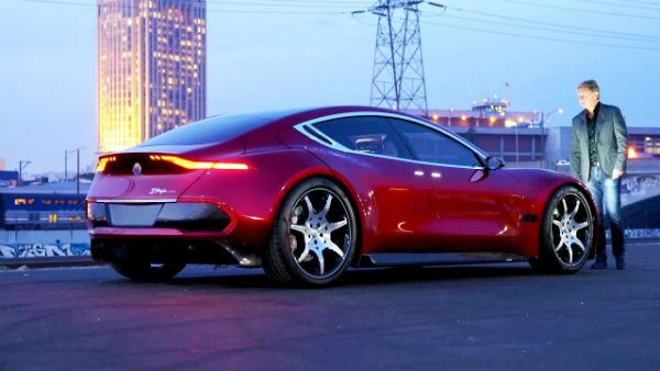 2020 Fisker Emotion Exclusive