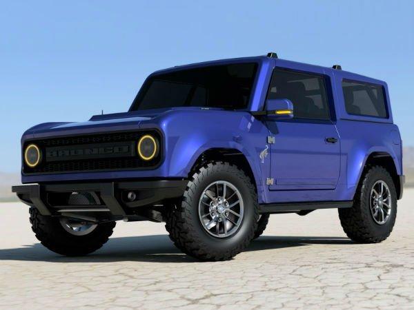 2020 Ford Bronco 2 Door