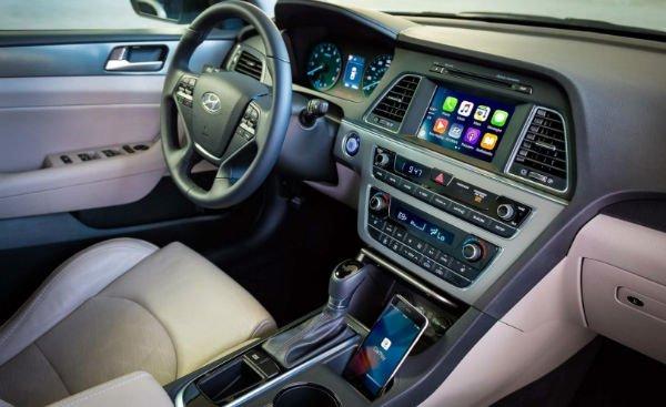 2020 Hyundai Sonata Hybrid Interior