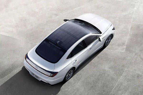 2020 Hyundai Sonata Hybrid Solar Roof